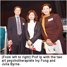 Ms Julia Byrne and Ms Ivy Fung & Prof Ip.